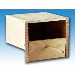 Nido exótico madera