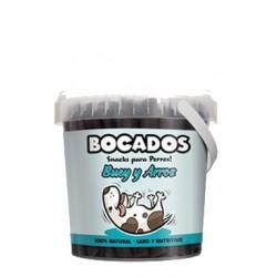 BOCADOS BUEY Y ARROZ