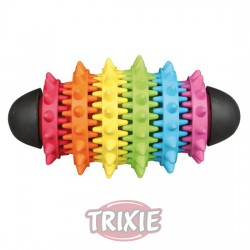 TRIXIE, DENTA FUN RUGBY, CAUCHO NATURAL, 15 CM  TRIXIE