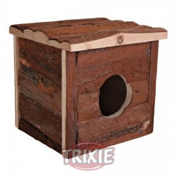 TRIXIE, CASITA ROEDORES NATURAL LIVING, 15X14X15 CM