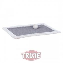 TRIXIE, ALFOMBRILLA RASC FRESH FRUITS,BORDE FELPA,55×35,BL
