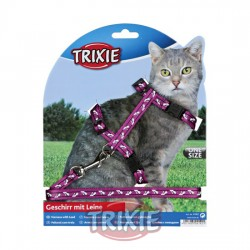 TRIXIE, SET GATOS, NYLON, COLORES SURT.