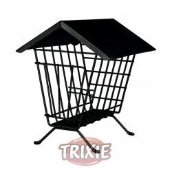 TRIXIE, PORTA HENO, METAL, 20 × 23 × 20 CM, NEGRO