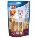 TRIXIE, SNACK PREMIO CORN DOGS, CON PATO, 4 UD./100 G