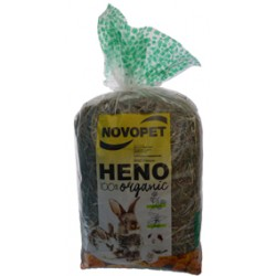 NOVOPET, HENO PREMIUM CALENDULA Y ORTIGA 500GR