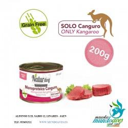 NATURGDOG MONOPORTEICO CANGURO 200GR