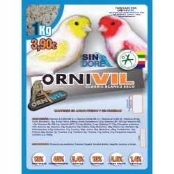 ORNIVIL CLASSIC SECA BLANCA 1KG