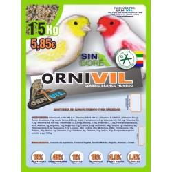 ORNIVIL CLASSIC HUMEDA BLANCA 1.5 KG