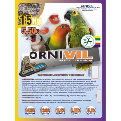 ORNIVIL TROPICAL 1.5KG