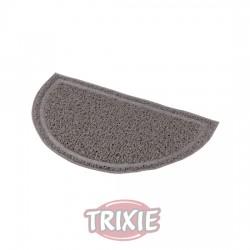 TRIXIE, ALFOMBRILLA PVC, SEMI-CIRCULAR, 41×25CM, ANTRACITA