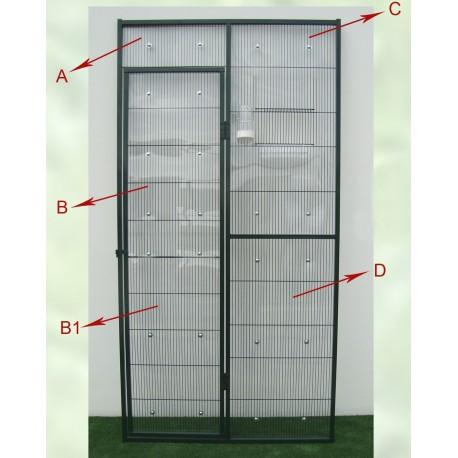 Panel pvc transparente rigido 1 M2 para voladero