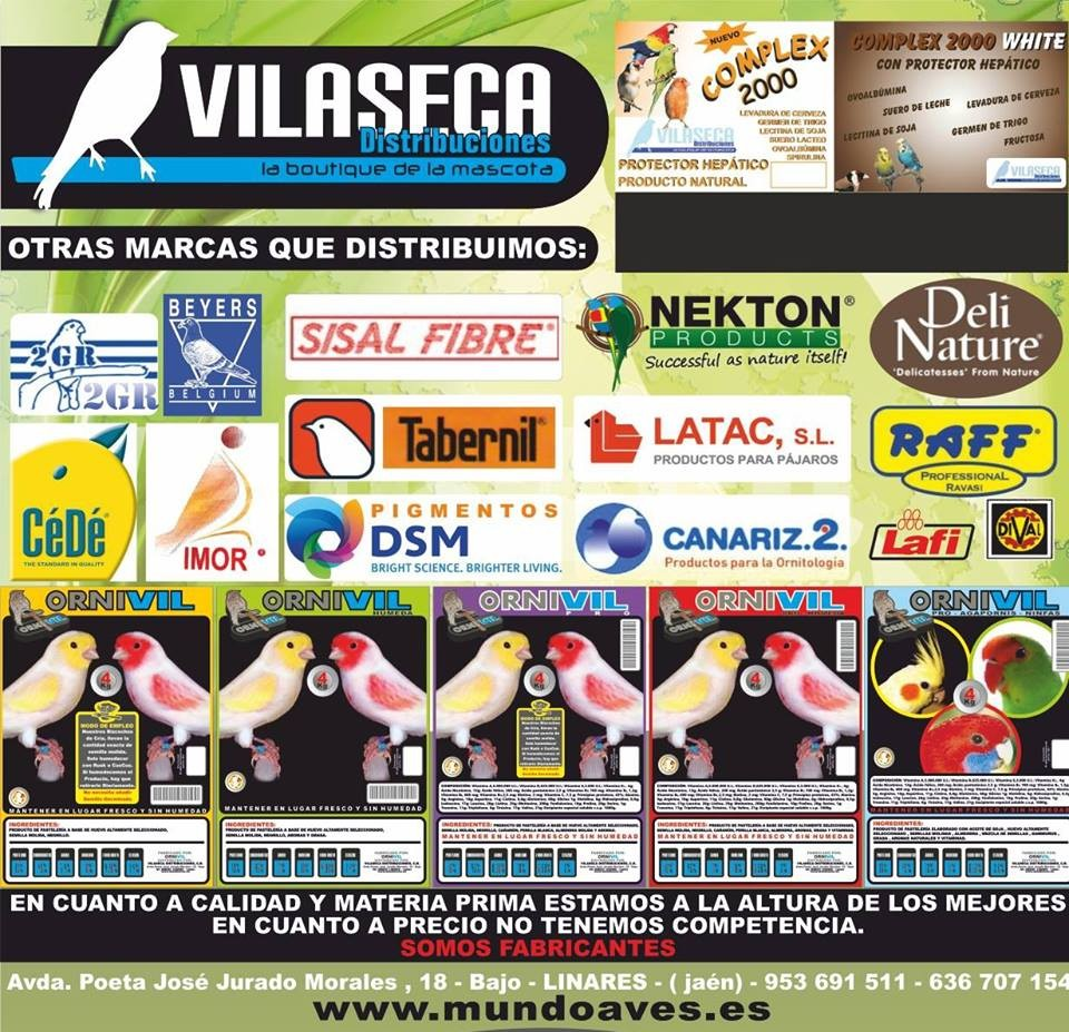 ORNITOLOGIA | ACCESORIOS MASCOTAS | TIENDA AVES ONLINE | COMIDA PÁJAROS