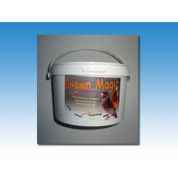 Brow magic 500g - 2.5kg, potencia eum. bruna y feo, brunos y mutacio