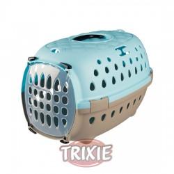 TRIXIE, TRANSPORTÍN TINOS,35×32×50CM, 1.1KG, TAUPE-AZUL CL