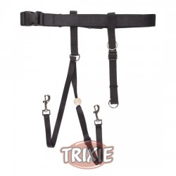TRIXIE, EASY WALK GUIDE.NEGRO