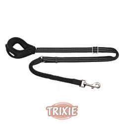 TRIXIE, CORREA PARA CORRER, 0.90-1.30M/ 20MM, NEGRO