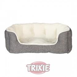 TRIXIE, CAMA DAVIN, 50×40 CM, GRIS/CREMA