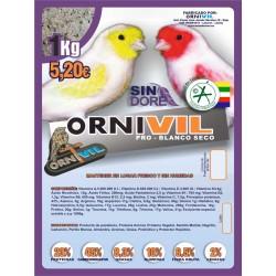 ORNIVIL-PRO BLANCO SECO 1KG