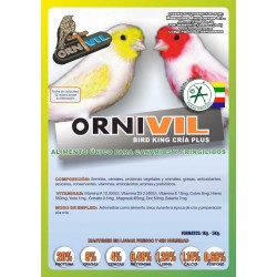 ORNIVIL- BIRD KING CRIA PLKUS 1KG
