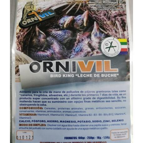 "ORNIVIL BIRD KING ""LECHE DE BUCHE"""